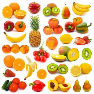 Spożywanie warzyw, owoców i sałatki